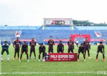Skuad PSM Makassar Piala Menpora 2021/Sumber: PSM Makassar (Instagram)