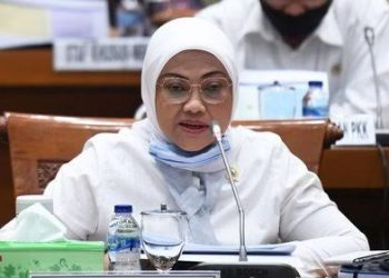 Menteri Ketenagakerjaan (Menaker) Ida Fauziyah. Sumber: Tirto.id