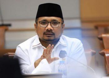 Menteri Agama RI, Yaqut Cholil Qoumas dijadwalkan akan memimpin langsung sidang isbat penentuan 1 Syawal 1442 H /Sumber:topsatu.com