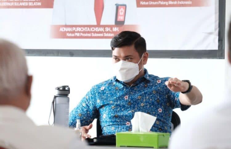 Ketua PMI Sulsel, Adnan Purichta Ichsan
